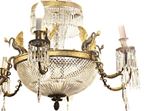 Still life antichità lampadario