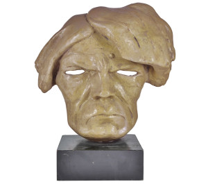 Still life antichità maschere