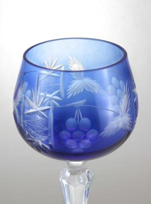Still Life bicchiere decorato