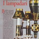 Still life lampadari antiquariato